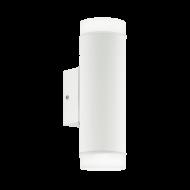 Venkovní nástěnné osvětlení, bílé RIGA-LED 96504