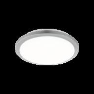Stropní LED svítidlo se stříbrným prvkem, průměr 51 cm COMPETA-ST 97326