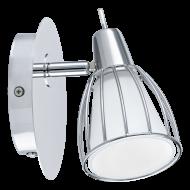Nástěnná lampička v chromu BALBINO
