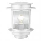 Venkovní lampa bílá EXIT 1