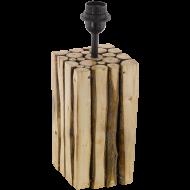 Stolní pokojová lampička ze dřeva RIBADEO 49832