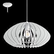 Závěsné stropní osvětlení dřevěná konstrukce COSSANO 2 95254