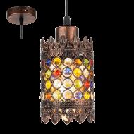 Závěsné vintage svítidlo JADIDA 49766