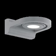 Venkovní nástěnné LED světlo - stříbrné ROALES 96281
