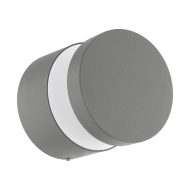 Venkovní nástěnné LED světlo - stříbrné MELZO 97301