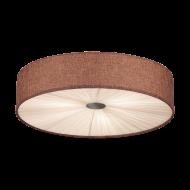 Stropní svítidlo FUNGINO 39445, hnědo-bílé