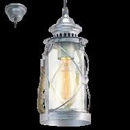 Závěsná lucerna na žárovku BRADFORD 49214