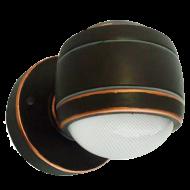 Designové venkovní LED světlo, tmavě hnědé SESIMBA 96268