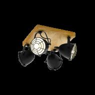 Stropní bodové svítidlo/4žárovky GATEBECK 49079