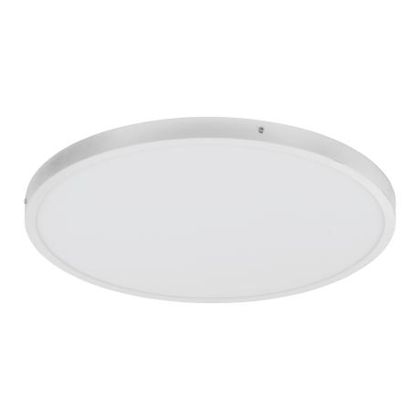Kruhové stropní LED osvětlení, stříbrná/bílá FUEVA 1 97263