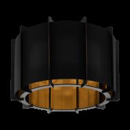 Stropní svítidlo PINETA 98339, černo-zlaté