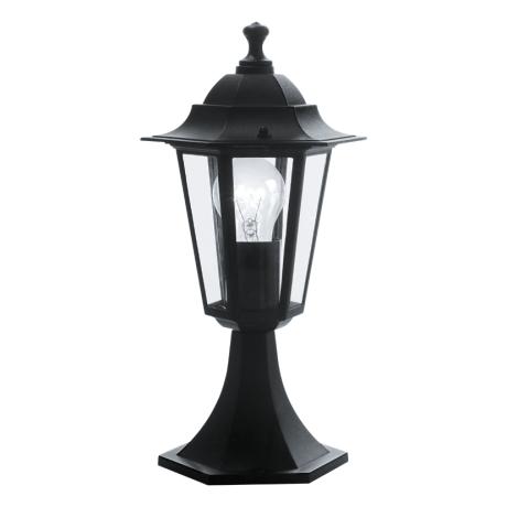 Zahradní stojací svítilna černé barvy LATERNA 4