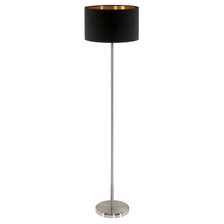 Stojací lampa černá PASTERI 95175
