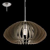 Závěsné stropní osvětlení dřevěná konstrukce COSSANO 2 95261