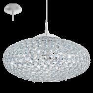 Luxusní závěsné světlo z křišťálu CLEMENTE 95286