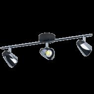 LED bodové stropní svítidlo se třemi stínítky MONCALVIO 96717
