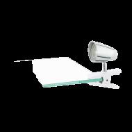 LED světlo s klipem - provedení bílá/chrom MONCALVIO 1 96844