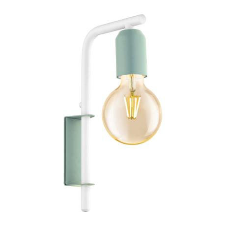 Nástěnné svítidlo v pastelově zeleném provedení ADRI-P 49118