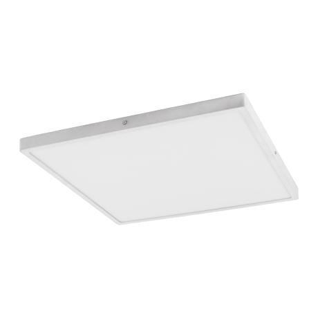 Stropní LED svítidlo ve tvaru čtverce, bílá/bílá FUEVA 1 97273