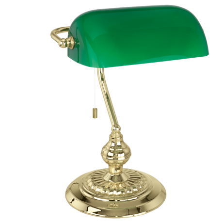 Stolní lampička (bankéřská) BANKER