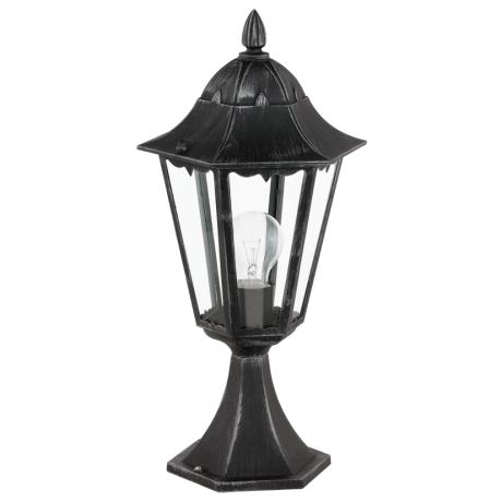 Stojací venkovní lampa / lucerna patina NAVEDO