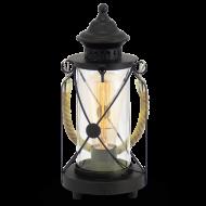 Lucerna černá na žárovku BRADFORD 49283