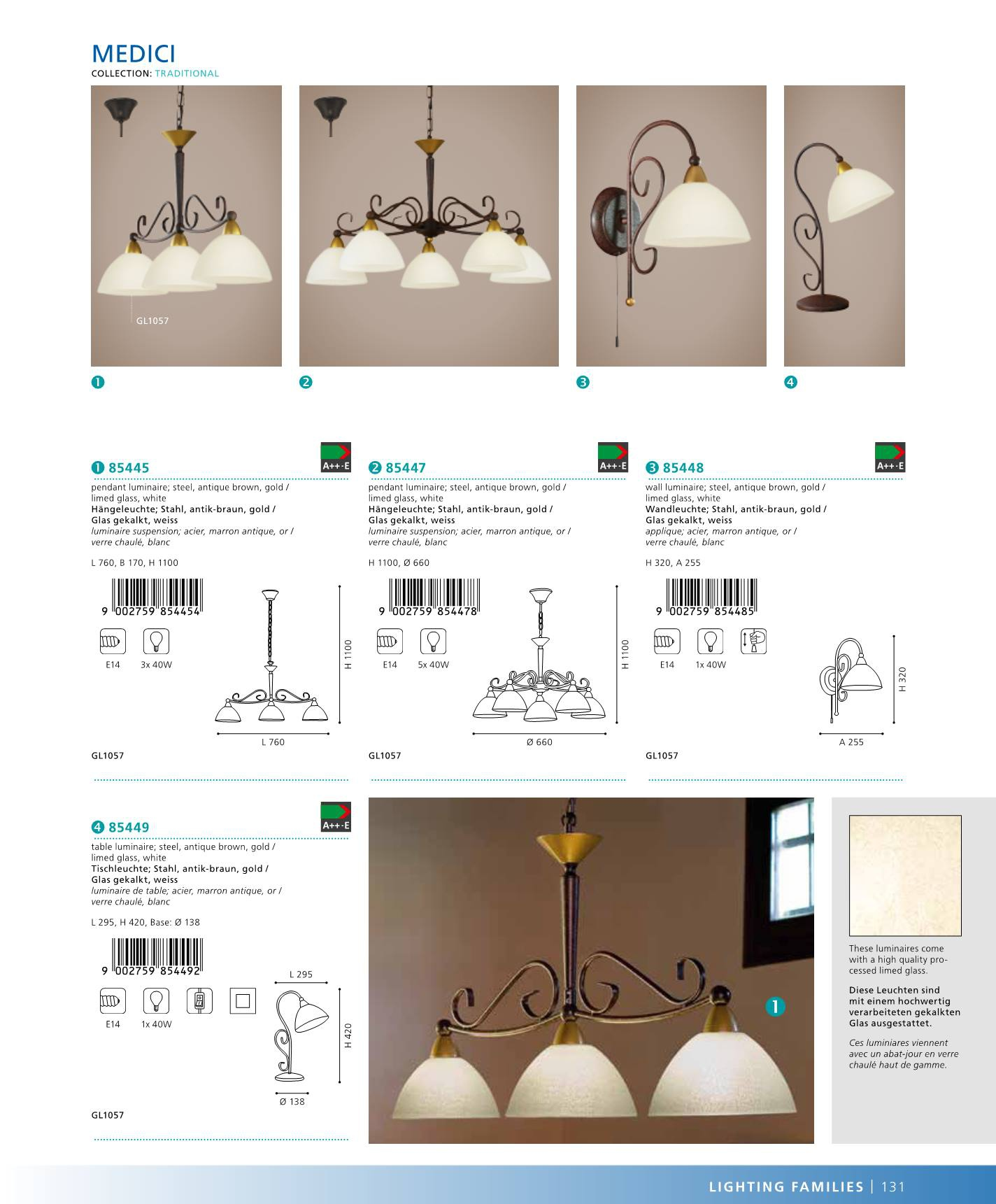 n st nn lampa medici eglo 85448. Black Bedroom Furniture Sets. Home Design Ideas