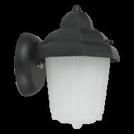 Venkovní lampa na stěnu černé barvy LATERNA 7