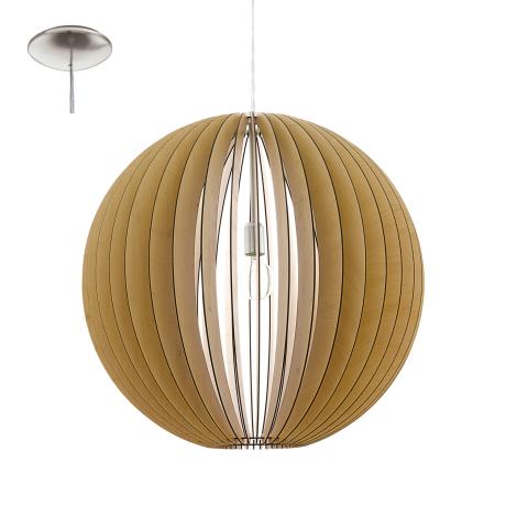 Závěsný lustr s dřevěnou konstrukcí COSSANO 94766