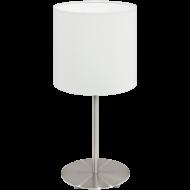 Stolní lampička s textilním stínítkem PASTERI 95725