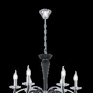 Závěsný lustr na řetězu MEDUNO 39126