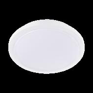 Bílé stropní LED svítidlo do koupelny s průměrem 34,5 cm COMPETA 1-ST 97751