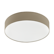 Stropní LED osvětlení s průměrem 57 cm, hnědošedé ROMAO 3 97778