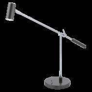 Lampička LED černá s vypínačem LAURIA 1