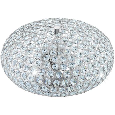Luxusní přisazené světlo z křišťálu CLEMENTE 95284