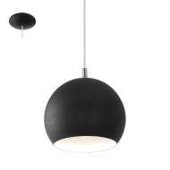 Závěsné osvětlení / lustr černý PETTO LED 95836