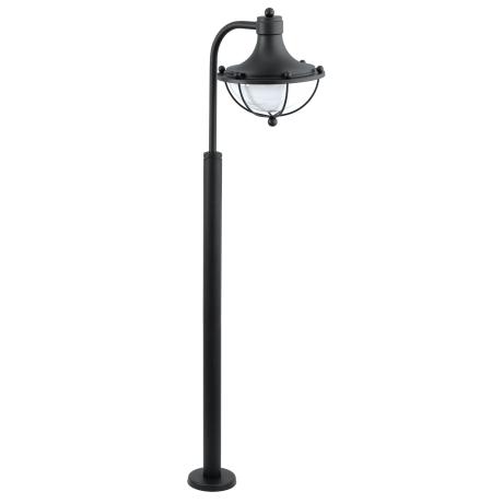Venkovní stojací lampa, černá MONASTERIO 95977