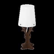 Stolní lampa, tmavě hnědá HUNTSHAM 49368