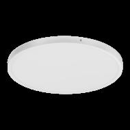 Kruhové stropní LED svítidlo, bílá/bílá FUEVA 1 97271