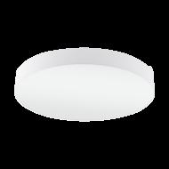 Osvětlení na strop s textilním stínítkem a průměrem 76 cm, bílá/bílá PASTERI 97615