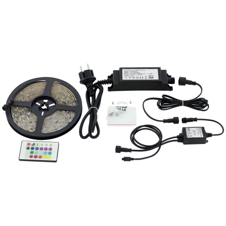 LED STRIPES-FLEX 97931 barevné s délkou 5 m a krytím IP44