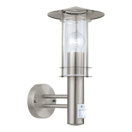 Venkovní lucerna nástěnná s pohybovým sensorem LISIO