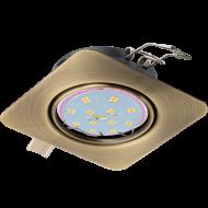 Vestavná bodovka do podhledu bronz PENETO 94265
