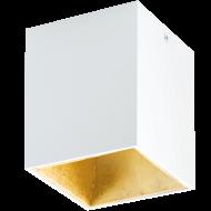 LED stropní osvětlení bílé a zlatvavé POLASSO 94498