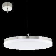 Kruhové stropní LED osvětlení závěsné SORTINO-S 95701