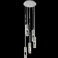 Spirálovitě řešené LED svítidlo s pěti stínítky CERATELLA 96905