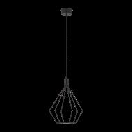 Závěsné LED svítidlo - černé CADOS 39321