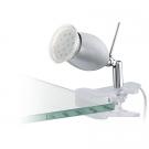Lampička s klipem stříbrná BANNY 1