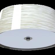 Stropní svítidlo s textilním stínítkem DONADO 96464