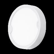 Kruhové venkovní osvětlení bílé ALFENA-R 95083